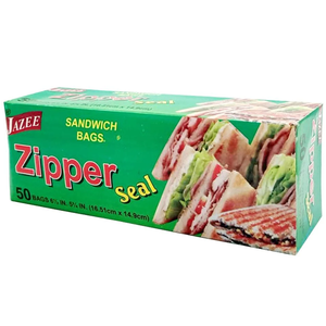 Zipper Seal Sandwich Bags