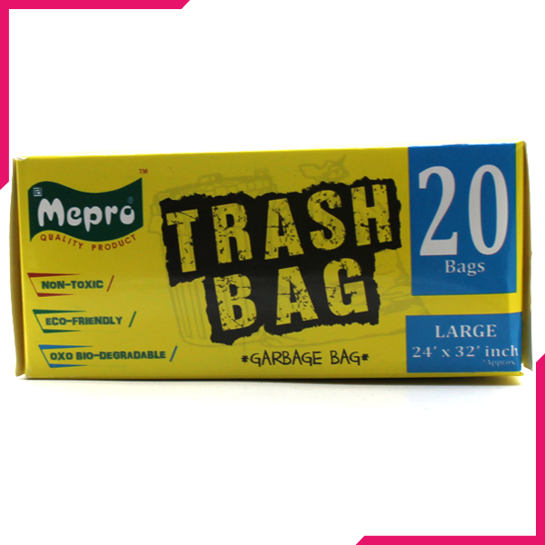 Mepro Trash Bag Garbage Bag Large - bakeware bake house kitchenware bakers supplies baking