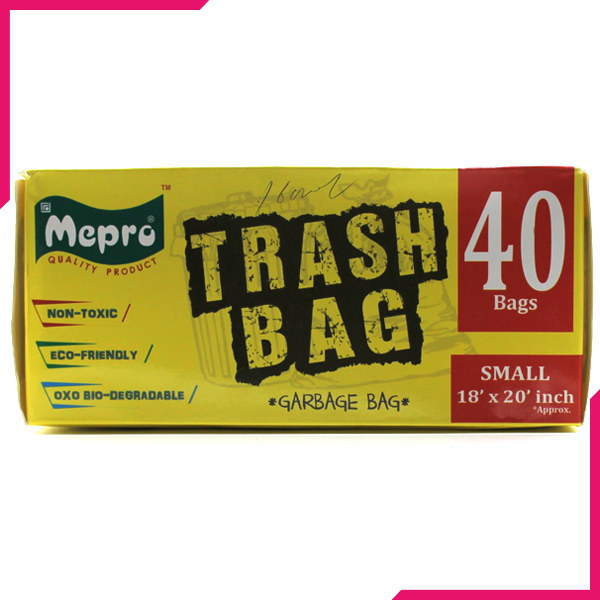 Mepro Trash Bag Garbage Small - bakeware bake house kitchenware bakers supplies baking