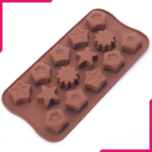 Star, Hexagon, Jelly Chocolate Mold - bakeware bake house kitchenware bakers supplies baking