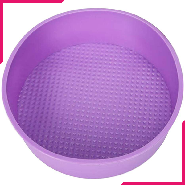 Silicone Round Cake Pan - bakeware bake house kitchenware bakers supplies baking