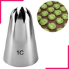 1C Stainless Steel Icing Nozzle - bakeware bake house kitchenware bakers supplies baking