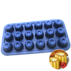 Silicone Flower Mini Muffin Tray 18 Cavity