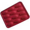 Silicone Baking Tray Shell Shape - 12 Cavity