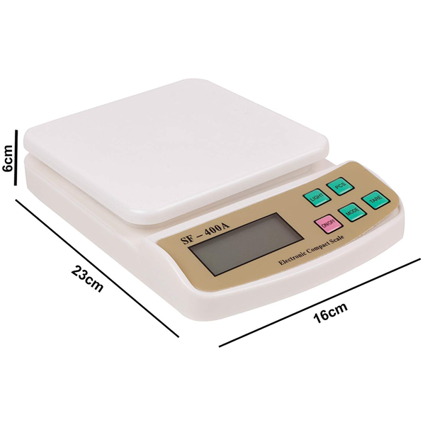 Digital Kitchen Scale SF-400A - bakeware bake house kitchenware bakers supplies baking