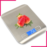 Stainless Steel Waterproof Digital Kitchen Scale - bakeware bake house kitchenware bakers supplies baking