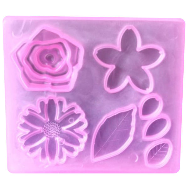 Silicone Soft Flower Mold - bakeware bake house kitchenware bakers supplies baking