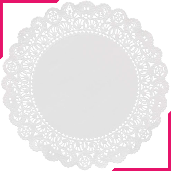 Doilies Baking Paper Mats 50Pcs - bakeware bake house kitchenware bakers supplies baking