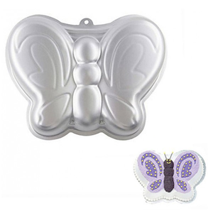 Aluminium Butterfly Cake Pan - bakeware bake house kitchenware bakers supplies baking