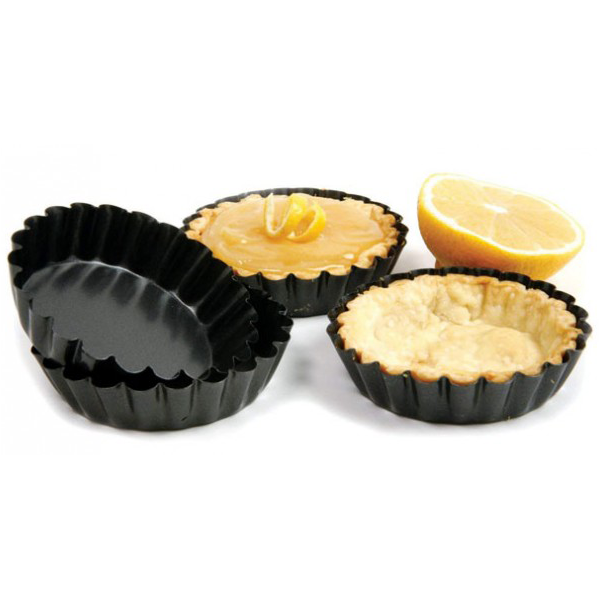Mini Round Tart Pan 18Pcs - bakeware bake house kitchenware bakers supplies baking