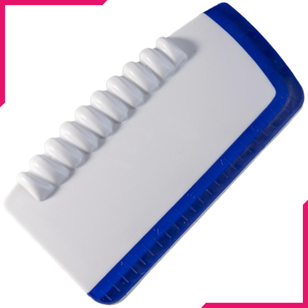 Plastic Cake Scraper and Smoother - bakeware bake house kitchenware bakers supplies baking