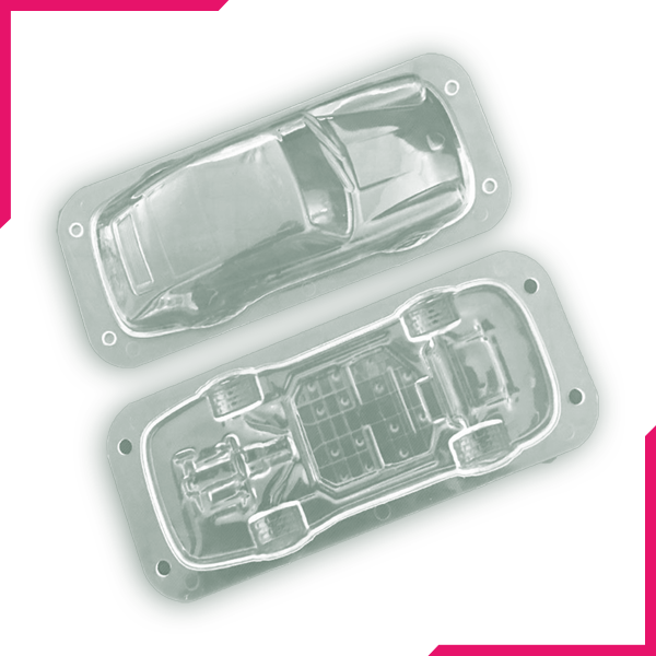 3D Stereo Car Chocolate Mold - bakeware bake house kitchenware bakers supplies baking