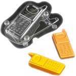Acrylic 3D Mobile Shape Chocolate Mold - bakeware bake house kitchenware bakers supplies baking