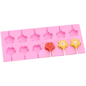 Silicone Mold for Flower Lollipop - bakeware bake house kitchenware bakers supplies baking