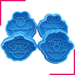 3D Sesame Street Elmo Biscuit Cookie Cutter