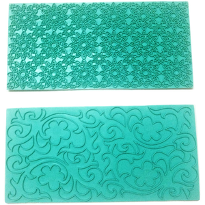 Lace Stamp 2 Designs - bakeware bake house kitchenware bakers supplies baking