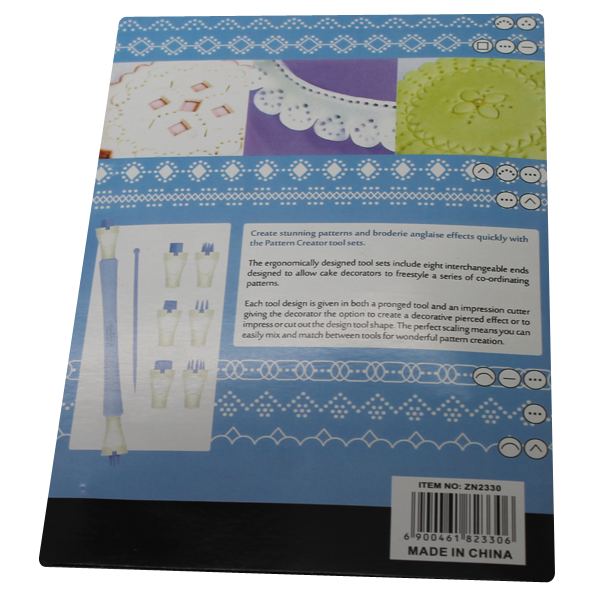 Icing Needle and Fondant Pattern Creator Set - bakeware bake house kitchenware bakers supplies baking