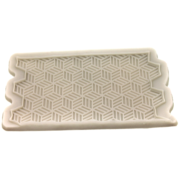 Silicone Fondant 3D Pattern Mold - bakeware bake house kitchenware bakers supplies baking