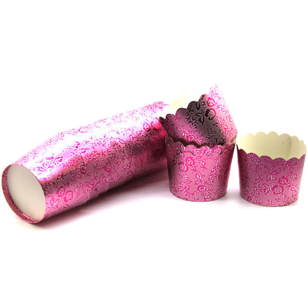 Paper Cup Pink 10 Pcs - bakeware bake house kitchenware bakers supplies baking