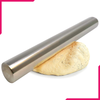 Stainless Steel Rolling Pin Heavy - 12 Inches - bakeware bake house kitchenware bakers supplies baking