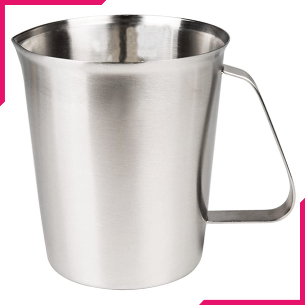 Stainless Steel Milk Frothing Jug - 1500Ml - bakeware bake house kitchenware bakers supplies baking