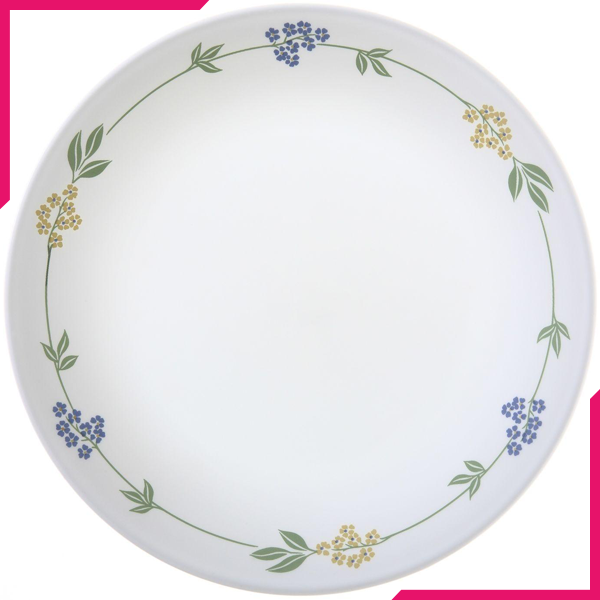 "Corelle Livingware 8.5"" Luncheon Plate Secret Garden - bakeware bake house kitchenware bakers supplies baking"
