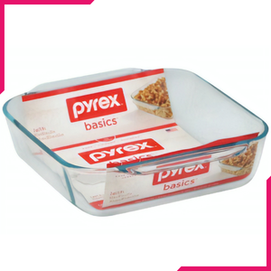 Pyrex Square Glass Baking Dish 2-qt