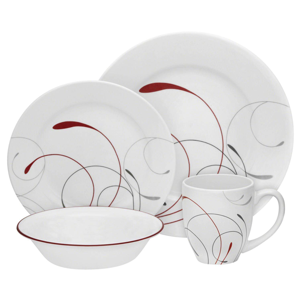 Corelle 16 Pcs Set Splendor - IMP - bakeware bake house kitchenware bakers supplies baking