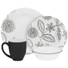 Corelle 16 Pcs Set Reminisce -Vive - bakeware bake house kitchenware bakers supplies baking