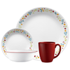 Corelle Livingware Series 16 Pcs Set Febe - bakeware bake house kitchenware bakers supplies baking