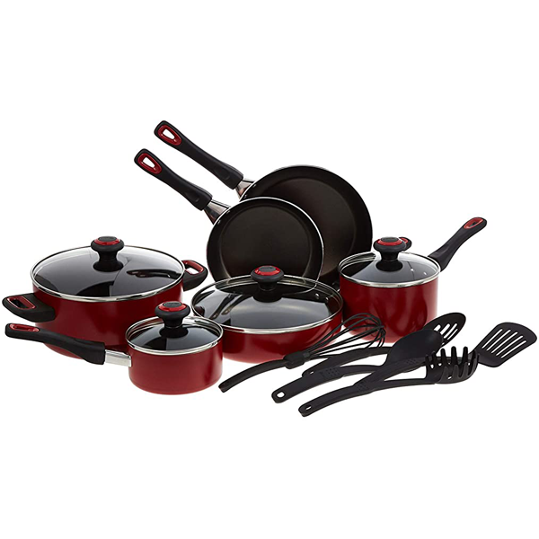 Prestige 15pc Non Stick Cook Set - bakeware bake house kitchenware bakers supplies baking