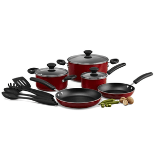 Prestige 12 Pcs Cook Set Red - bakeware bake house kitchenware bakers supplies baking