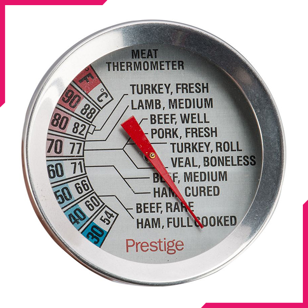 Prestige Meat Thermometer - bakeware bake house kitchenware bakers supplies baking