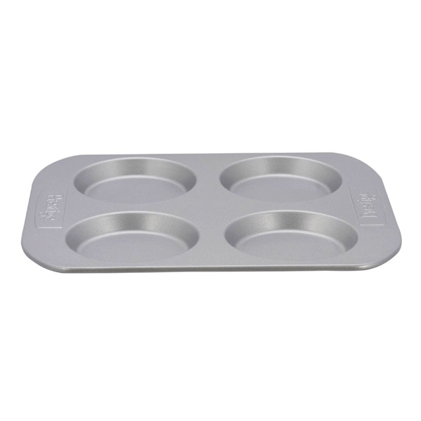 Prestige 4Cup Bun Pan - bakeware bake house kitchenware bakers supplies baking