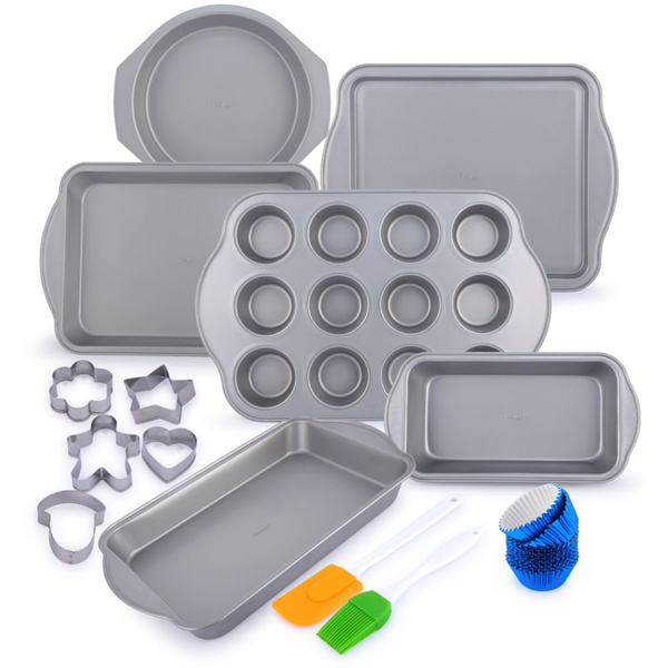 Prestige Bakeware Set 25Pcs - bakeware bake house kitchenware bakers supplies baking