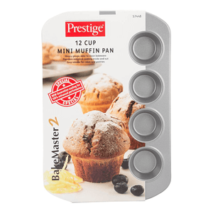 Prestige12Cup Mini Muff Pan - bakeware bake house kitchenware bakers supplies baking