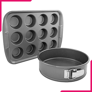 Prestige Spring And 12 Cup Muff Pan - bakeware bake house kitchenware bakers supplies baking