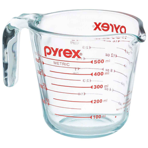 Pyrex 2-Cup Glass Measuring Cup 500ml