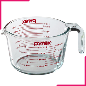 Pyrex Glass Measuring Cup - bakeware bake house kitchenware bakers supplies baking