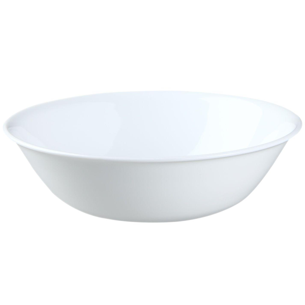 Corelle Livingware 1 qt Serving Bowl Winter Frost White - bakeware bake house kitchenware bakers supplies baking