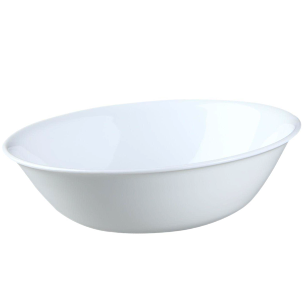 Corelle Livingware 2 qt Serving Bowl Winter Frost White - bakeware bake house kitchenware bakers supplies baking
