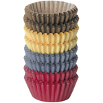 Tescoma Mini Cupcake Liner Coloured Paper - bakeware bake house kitchenware bakers supplies baking