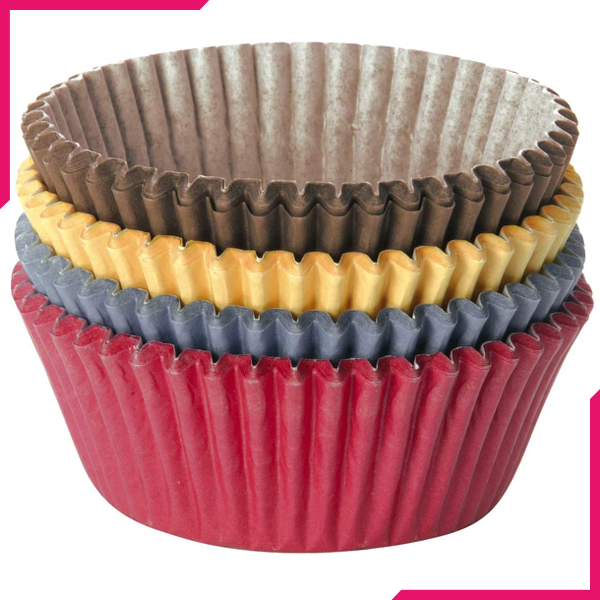Tescoma Cupcake Liner Coloured Paper