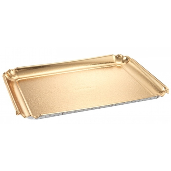 Tescoma Delicia Tray Gold 42x31cm - bakeware bake house kitchenware bakers supplies baking