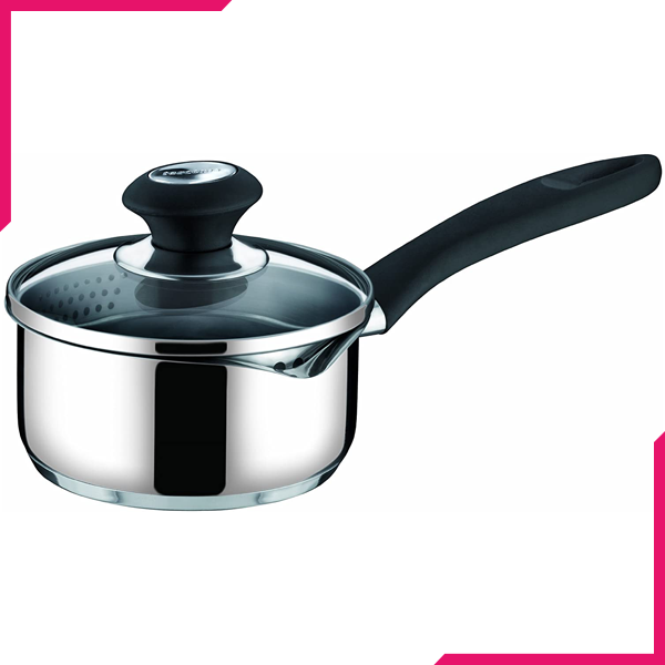 Tescoma  Presto Saucepan With Lid 16cm - bakeware bake house kitchenware bakers supplies baking