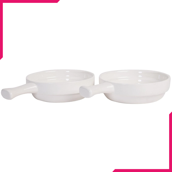 Symphony Pie Dish 2Pcs - bakeware bake house kitchenware bakers supplies baking