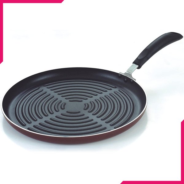 Kitchen King 30cm Non-Stick Grill Pan - bakeware bake house kitchenware bakers supplies baking