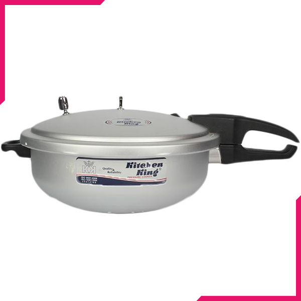 Kitchen King Feast Wok Pressure Cooker 4Ltr - bakeware bake house kitchenware bakers supplies baking