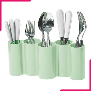Limon 5 Section Cutlery Holder - bakeware bake house kitchenware bakers supplies baking