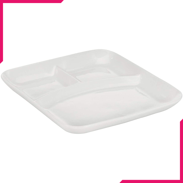Symphony 3 Division Square Platter - bakeware bake house kitchenware bakers supplies baking